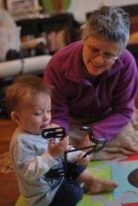 Sean and Grandmummy